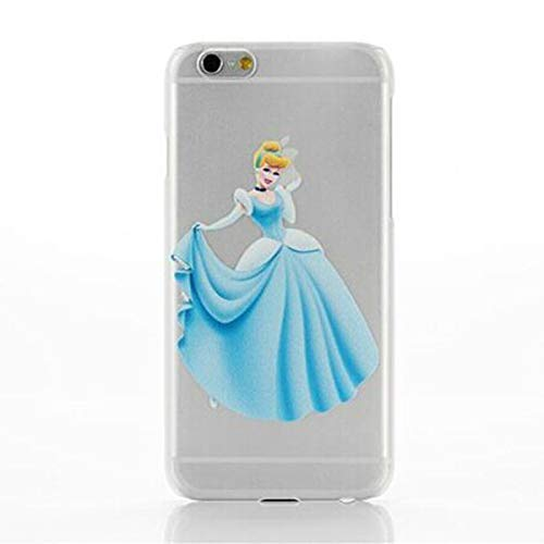 ALL4TOUCH Cover iPhone 6 6S Plus S Principesse Favole (iPhone X/XS, Cenerentola)