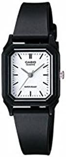 Casio Womens Quartz Watch, Analog Display and Resin Strap