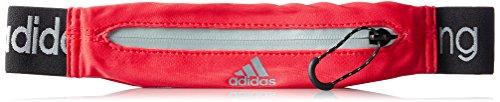 adidas Run Belt - Riñonera, Color Rojo, Talla NS