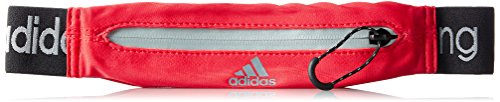 adidas Run Belt - Riñonera, Color Rojo, Talla NS