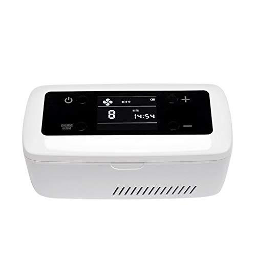 LVYE1 MRMF Refrigerador De Insulina Portátil De Gran Capacidad, Pantalla LCD, Mini Refrigerador Médico para Automóvil, Refrigerador para Medicamentos con Insulina