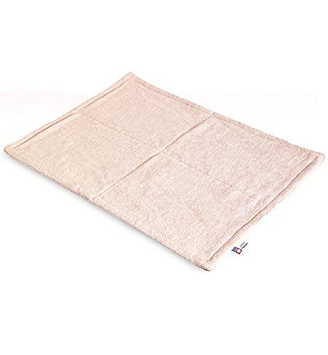 トランパラン 今治産バスマット HOTELALA 日本製 タオル地 綿100% ピンク