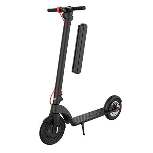 Lzww Adultos Mini Electrico Patinete 8.5 Pulgadas Batería Incorporada 45 Km Bicicleta City Scooter Plegable