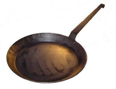 Eisenpfanne kaltgeschmiedet 45 cm