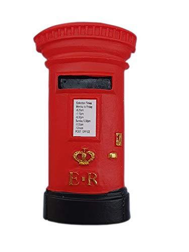 London Magnet Postbox Briefkasten Poly Souvenir Great Britain,Neu