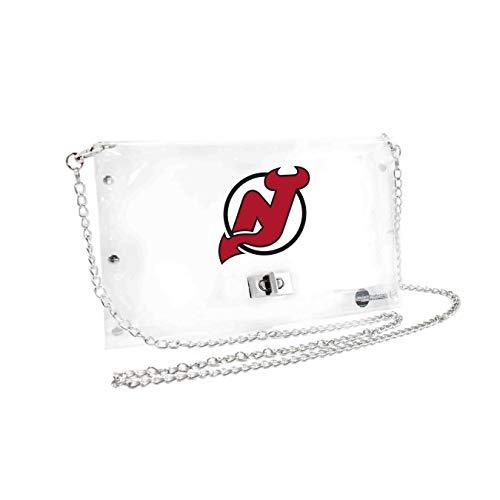 NHL New Jersey Devils Clear Envelope Purse