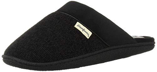 (Promo Diskon 49%) Knit Closed Toe Scuff Slipper - MED BLK $ 13.26