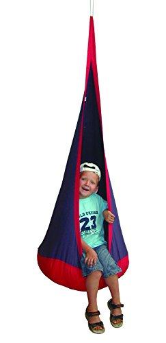 Roba hangzak 'rood blauw', kinderhangstoel/hangstoel/hangstoel/zitzak voor de kinderkamer of buiten