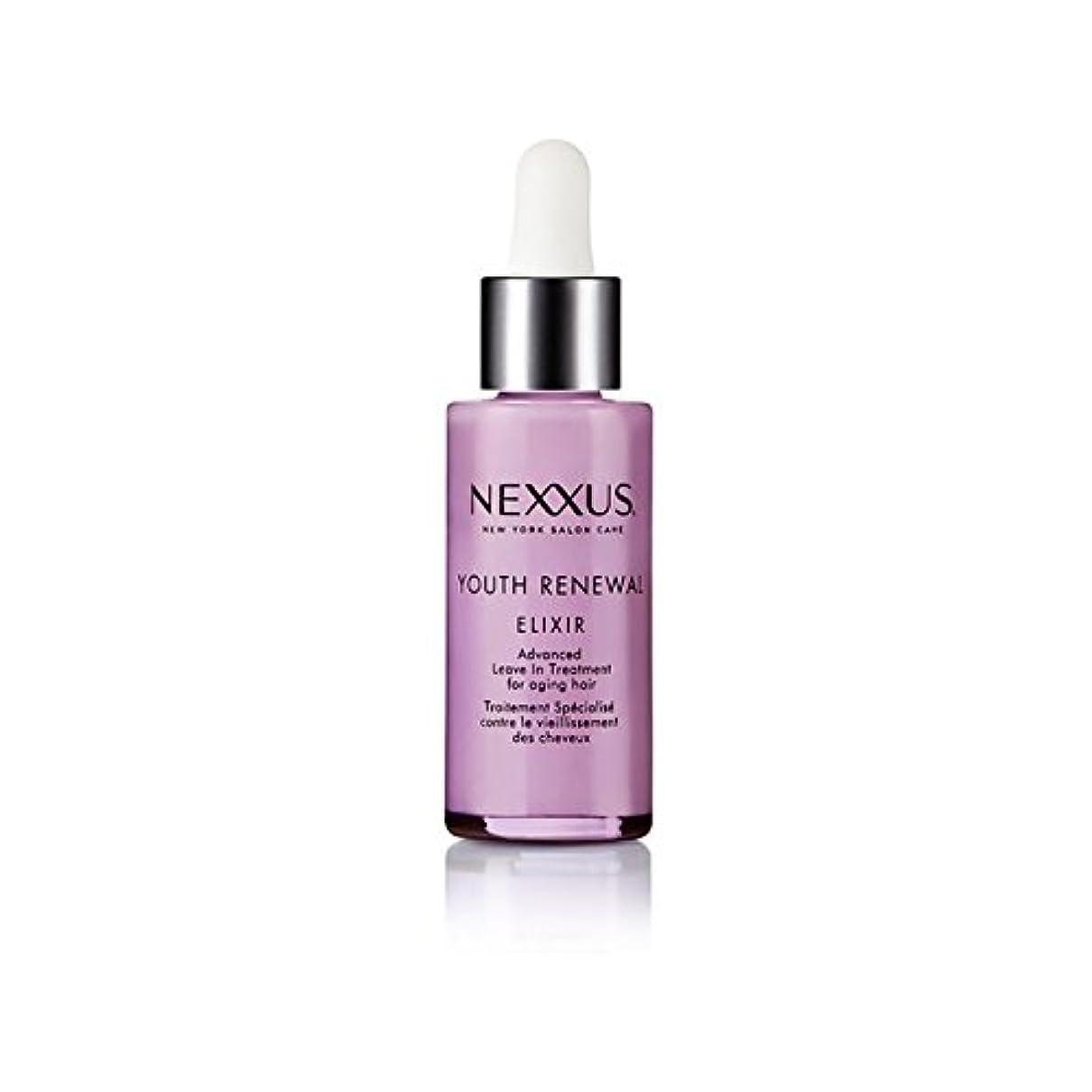 フィラデルフィア調べる刻むNexxus Youth Renewal Elixir (28ml) (Pack of 6) - 若者の更新エリキシル(28ミリリットル) x6 [並行輸入品]