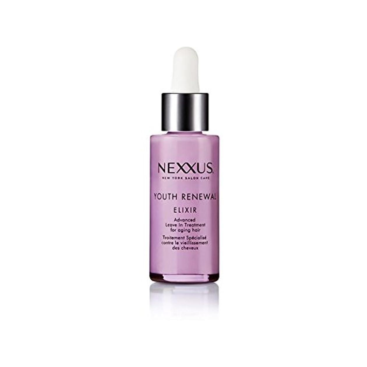 路面電車大学生未就学若者の更新エリキシル(28ミリリットル) x4 - Nexxus Youth Renewal Elixir (28ml) (Pack of 4) [並行輸入品]