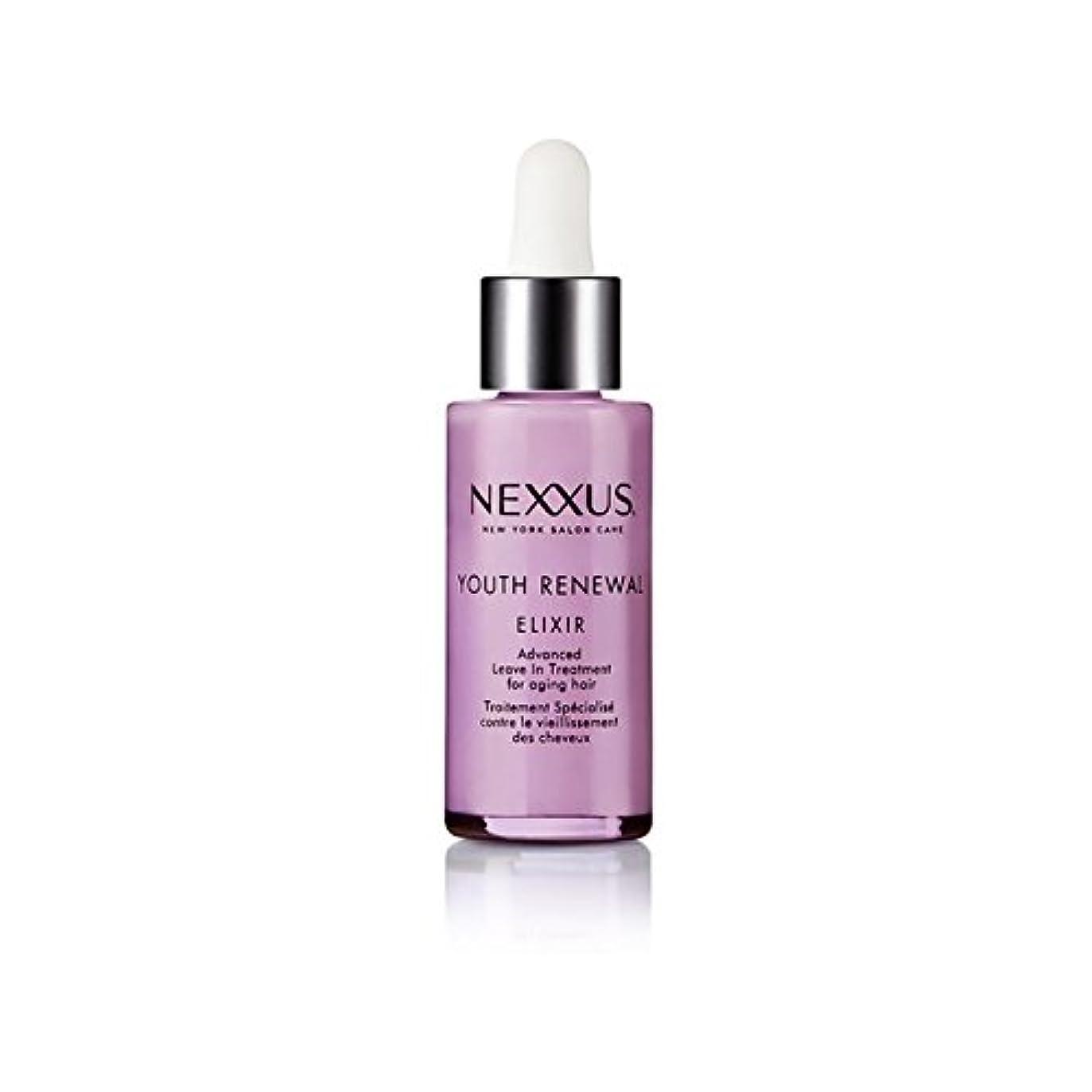 湿気の多い真似る破滅的な若者の更新エリキシル(28ミリリットル) x4 - Nexxus Youth Renewal Elixir (28ml) (Pack of 4) [並行輸入品]