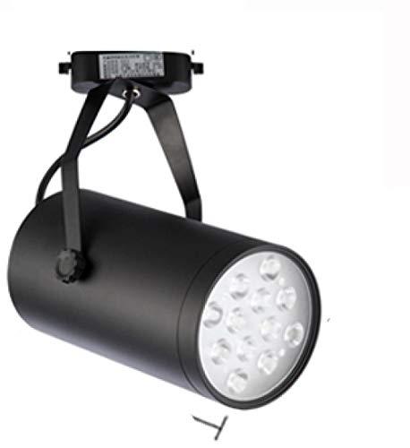 Techo Con Focos Lámpara De Techo Foco De Techo Foco De Luz Led Para Riel Foco Largo Para Riel De Poste Cob Spotlight-3000K Blanco Cálido 10W
