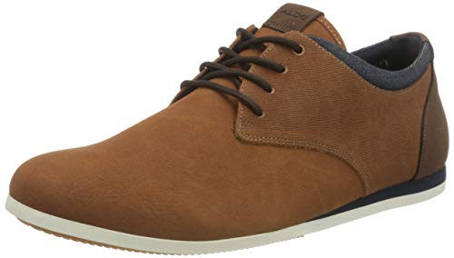 ALDO Herren AAUWEN-R Oxford-Schuh, Andere Braun, 45 EU