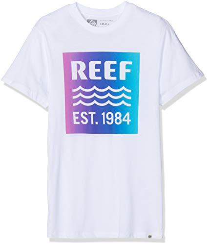 Reef Box tee Camisa, Blanco (White WHI), X-Large para Hombre