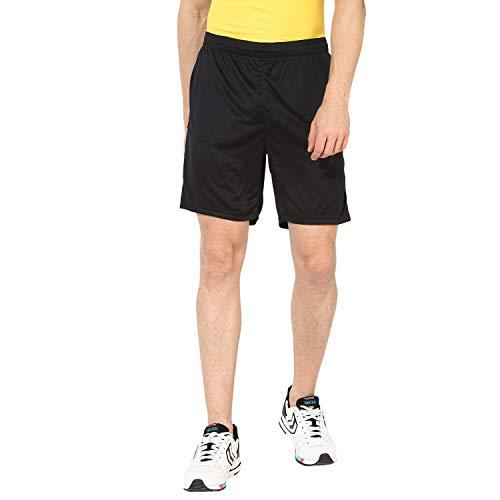 Hummel Herren Court Poly Shorts, Black, XL