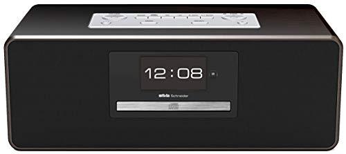 Silva Schneider SM-H 500 BT-C Audio-Center mit Klavierlackoptik ,MP3, Radio, CD, Bluetooth