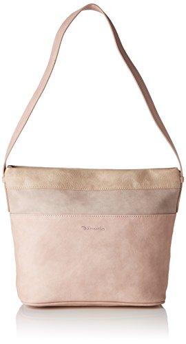 Tamaris Damen Khema Hobo Bag Schultertasche, Pink (Rose Comb.), 12x25x25 cm