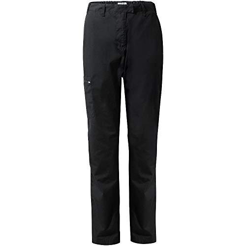Craghoppers Kiwi II Regular Pantalon de jambe 38 noir,Taille 10