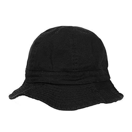 ニューハッタン テニスハット メトロハット バケットハット メンズ レディース 帽子 Newhattan Metro Hat Men's Ladies デニム ブラック ベージュ カーキ [並行輸入品]