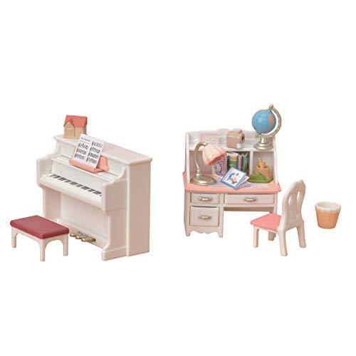 Calico Critters Piano & Desk Set