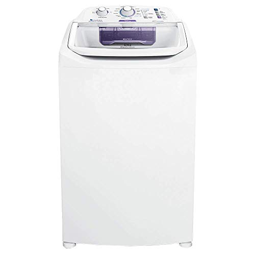 Máquina de Lavar 10,5kg Electrolux Branca Turbo Economia, Jet&Clean e Filtro Fiapos (LAC11) 220V