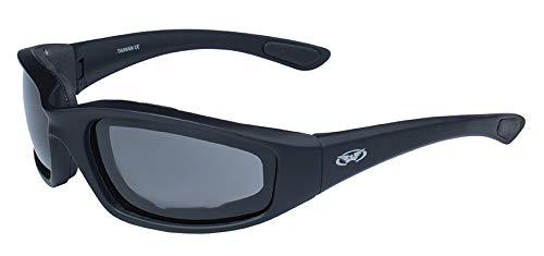 Global Vision Eyewear Kickback Sunglasses with EVA Foam, Smoke Tint Lens by Global Vision Eyewear