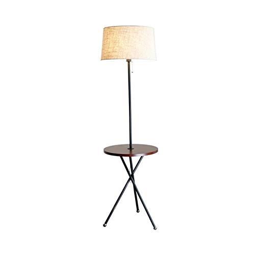 DSM Stehleuchte Nordic Wohnzimmerregal Couchtisch Warmes und einfaches Schlafzimmer Nachttisch-Vertikallampe 160cm (Color : White Light)