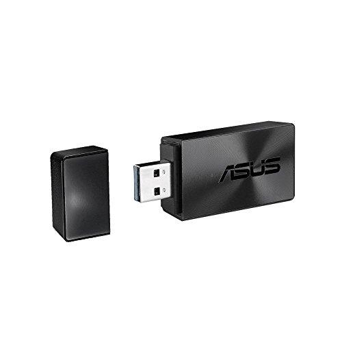 Asus USB-AC54 B1 AC1300 Dual-Band WLAN Stick (802.11ac, USB 3.0, MU-Mimo Unterstützung)