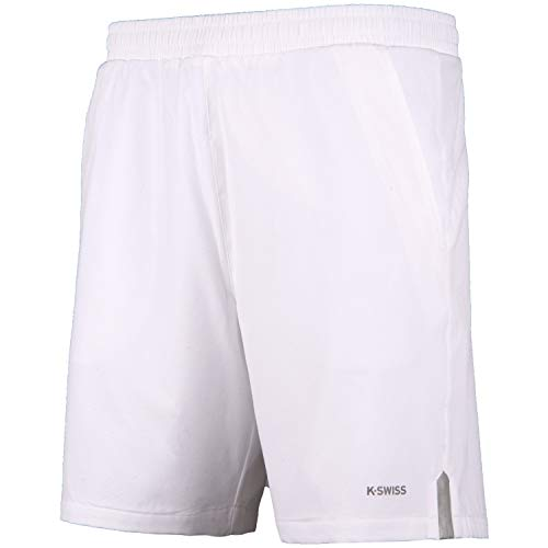 K-Swiss Corto KS TAC Hypercourt Express 8 Pantalon de Tenis,...