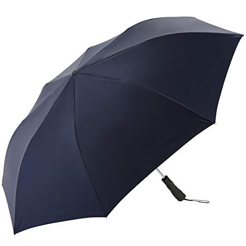 Regenschirm, winddicht, Sonnenschutz für Erwachsene, Herren, zweifach faltbar, ultraleichter Sonnenschirm C