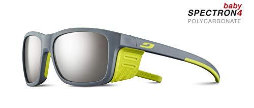 Julbo Cover Junior Sunglasses - Spectron 4 Baby - Gray Light/Apple Green