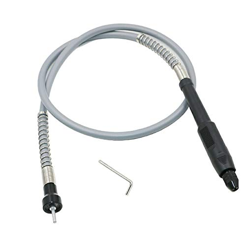 Gasea Taladro eléctrico línea de extensión de manguera de eje flexible accesorios amoladora eléctrica,accesorios para herramientas eléctricas-Eje flexible de plástico negro