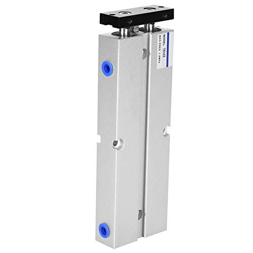 Gugxiom Cilindro neumático estándar, Cilindro de Aire, Mano de Obra Fina y roscas Transparentes para Uso Industrial(TN16X30-S)
