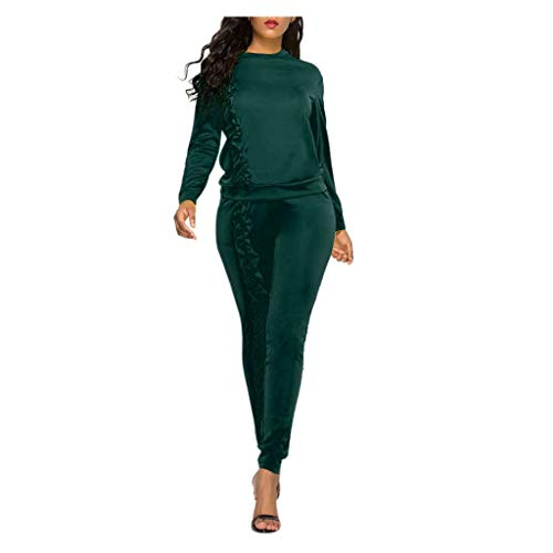 Learn More About Dainzuy Two Piece Outfits Tracksuit Women Sexy Crop Tops Sweatpants Set + Bodycon L...