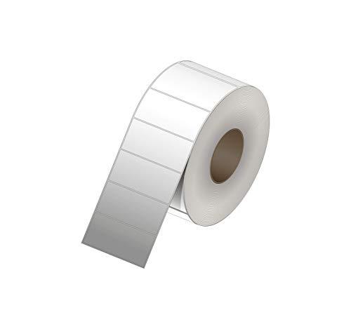 4 x 2 etiquetas de papel de transferencia térmica – Requiere cinta – sin perforaciones – 3000...