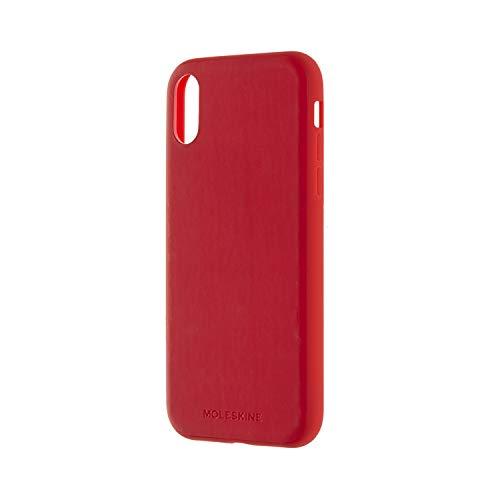 Coque pour Iphone XR rouge toucher doux