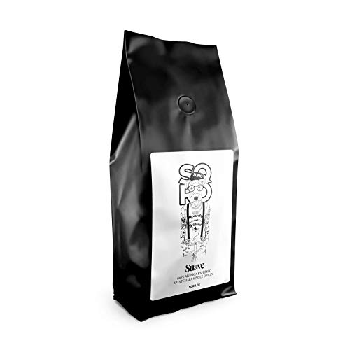ESCURO Espresso Bohnen - Single Origin Arabica Kaffeebohnen aus Guatemala - Schonend geröstet in Deutschland, säurearm -| Perfekt für Vollautomat, Espressomaschine und Siebträger - Specialty Coffee