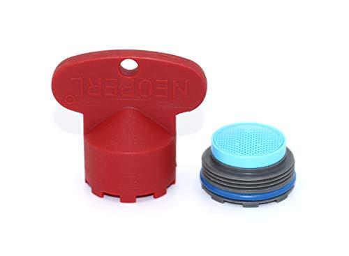 Preisvergleich Produktbild Neoperl Strahlregler (Luftsprudler,  Perlator),  JR / M21.5x1 - Durchflussklasse A: 13.5-15 l / min - 10993898