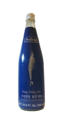 Megachef Premium Anchovy Fish Sauce (23.6 fl. oz. - 700 ml) by Marine Resources Development Co., Ltd.