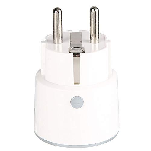 Enchufe de casa inteligente, control de voz manos libres, administre sus dispositivos a través del control de voz, tamaño compacto y diseño moderno
