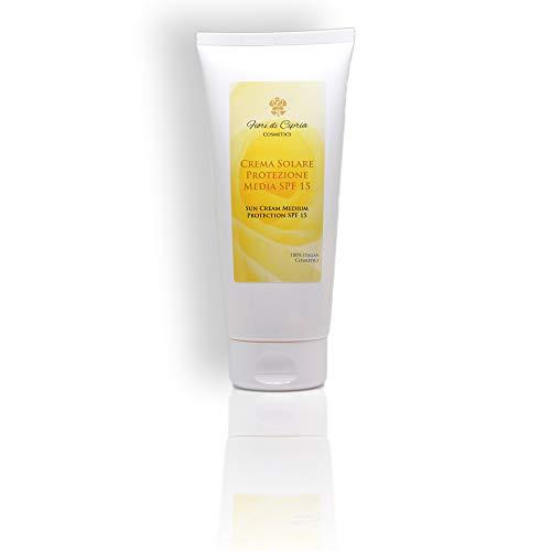 Sonnencreme Mittlerer Schutz (Spf 15) - Ihre Reiche Formel Stärkt Und Befeuchtet Die Haut Und Verbessert Die Körpereigenen Abwehrkräfte - 200 ml