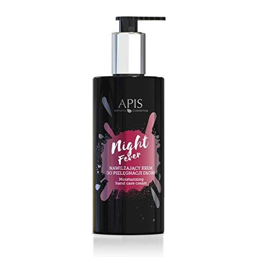 APIS NIGHT FEVER Hydrierende Creme für die Handpflege mit Maracuja, Leinen und Aloes | Hydrierte Haut den ganzen Tag | 300 ml