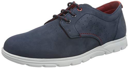 Panama Jack Domani, Zapatillas Para Hombre, Azul Oscuro, 45 Eu