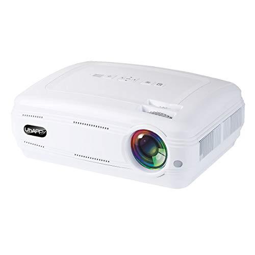 PowerLead U58 3200 lumen mini proiettore LCD, supporto 1080P HDMI USB TF VGA AV, proiettore LED HD HD.