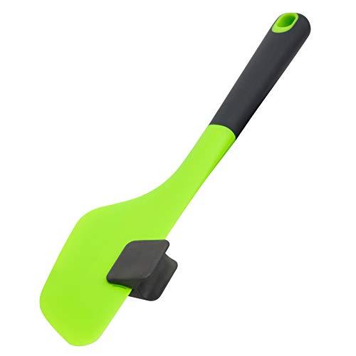 Multifunktionaler Dreh-Spatel für Thermomix® TM6 / TM5 / TM31 zum einfachen Ausschaben und Entleeren - Zubehör von KochFix (Grün)