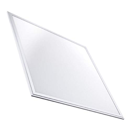 Pack 2x Luminaria Panel LED 60x60 cm, 40W Ultrafino. Color Blanco Frio (6500K). Idoneo Techo Modular. 3600 Lumenes. A++