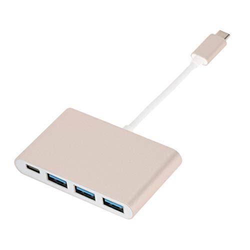 balikha USB-C Adapter Hub Cable W/Type-c USB 3.0 USB2.0 for Macbook Pro16 2019
