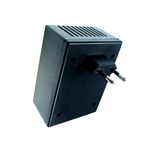 WITTKOWARE Steckergehäuse, unbearbeitet, 105x78x48mm, schwarz