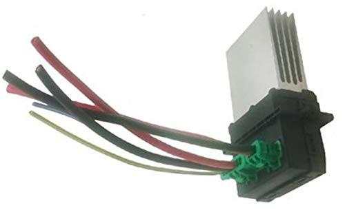 Resistencia del motor del ventilador, resistencia del ventilador del ventilador, resistencia del ventilador con arnés de cableado 6441L2