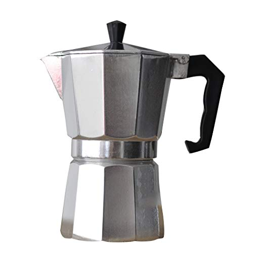 Moulin à café durable en aluminium octogonal de cafetière de ménage de résistance à la pression de fabricant de café